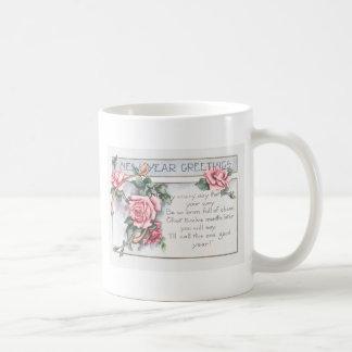Mug Nouvelle année rose de Wishbone