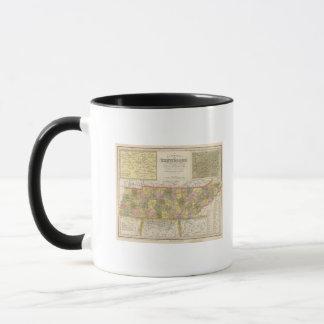 Mug Nouvelle carte du Tennessee