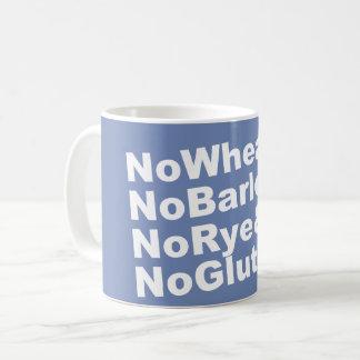 Mug NoWheat&NoBarley&NoRye&NoGluten ! (blanc)