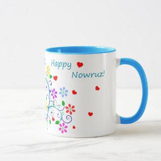 Mug Nowruz heureux la nouvelle année persane, floral