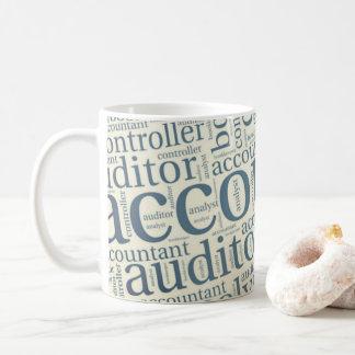 "Mug ""Nuage du mot des comptables """