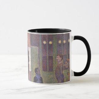 Mug Numéro de cirque de cirque par Georges Seurat, art