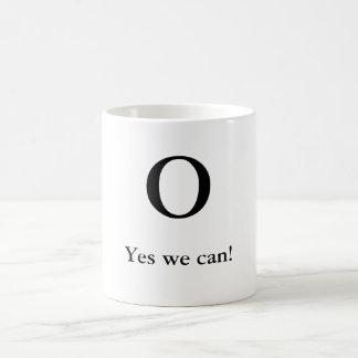 Mug O, oui nous pouvons !