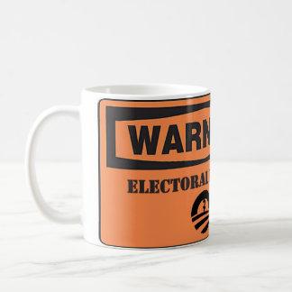 Mug Obama - risque électoral de avertissement