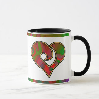 Mug Objet de collection multicolore de mélange et de