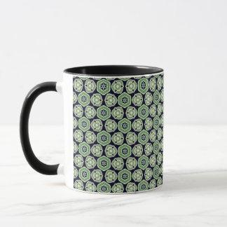 Mug Objet de collection vert de mélange et de match -