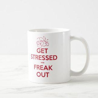 Mug Obtenez soumis à une contrainte et Freak