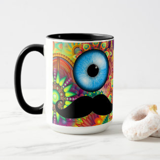 Mug Oeil de moustache