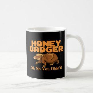 Mug Oh aucun blaireau de miel