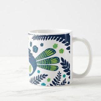 Mug oiseau de région boisée