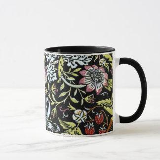 Mug Oiseaux et fleurs de William Morris 2 parts