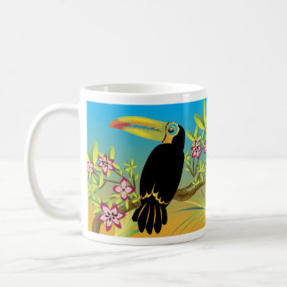Mug Oiseaux tropicaux de toucan