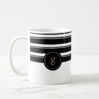 Mug Or contemporain et noir