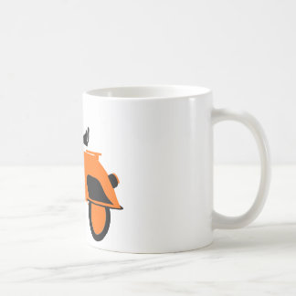 Mug Orange de scooter