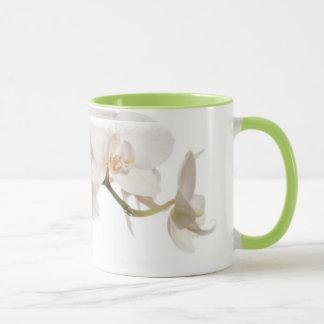 Mug Orchidée de mite blanche