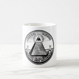 Mug Ordre mondial d'Illuminati de question nouvel