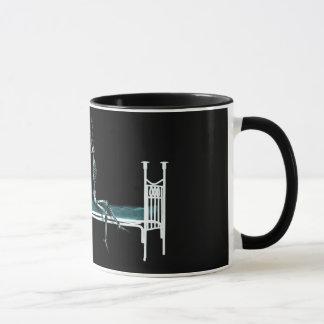 Mug Original squelettique de rayon X heure du coucher