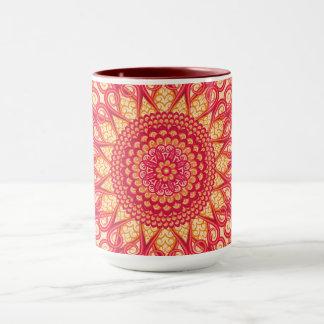 Mug Ornement ethnique tribal rond décoratif