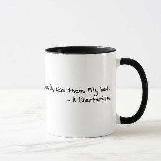 Mug Oui libertaires comme (pour manger) des bébés