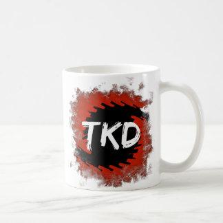 Mug Ouragan rouge et noir de TKD