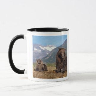 Mug Ours de Brown, ours gris, truie avec l'petit