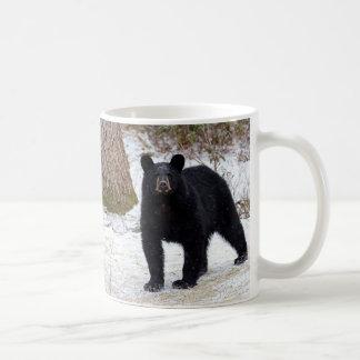 Mug Ours noir de la Pennsylvanie en hiver
