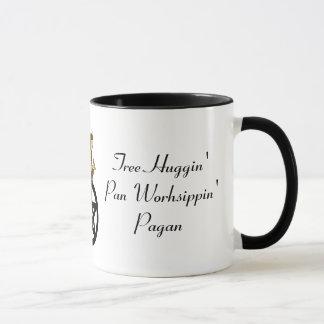 Mug Païen de Worhsipppin de casserole de Huggin