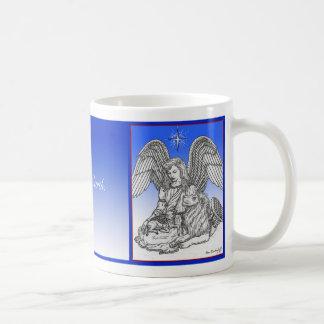 Mug Paix sur terre, le lion, l'agneau et l'ange