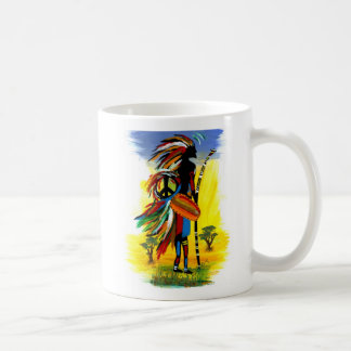 Mug Paix tribale