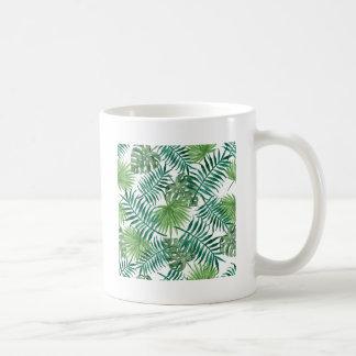 Mug Palmette botanique tropicale de plante