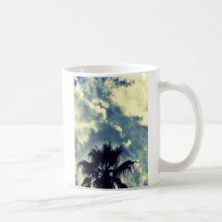Mug Palmier et nuages