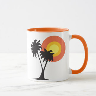 Mug Palmiers et Sun