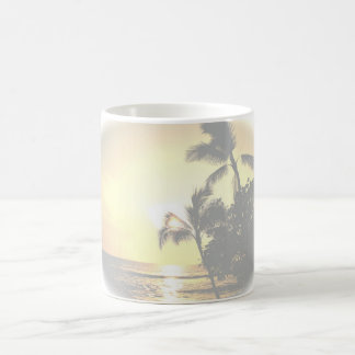 Mug Palmiers tropicaux d'océan