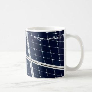 Mug Panneau d'énergie solaire