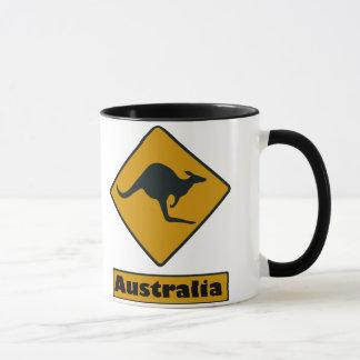 Mug Panneau routier de l'Australie - croisement de