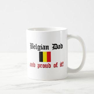 Mug Papa belge fier