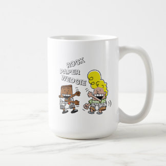 Mug Papier Wedgie de roche de capitaine Underpants |