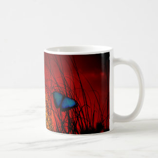 Mug Papillon bleu