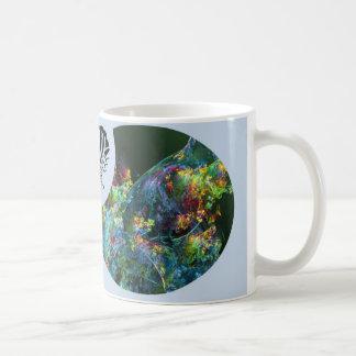Mug Papillon de fractale d'abondance