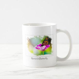 Mug Papillon de monarque sur la fleur pourpre
