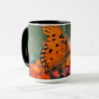 Mug Papillon orange