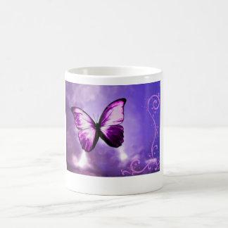 Mug Papillon pourpre