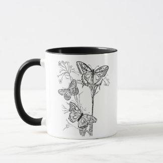 Mug Papillons