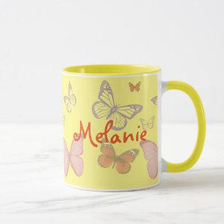 Mug Papillons de toute couleur que vous voulez