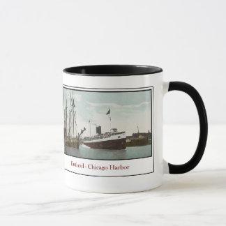 Mug Paquebot Eastland - port de Chicago