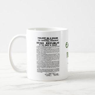 Mug Pâques 1916 en hausse Proclaimation républicain