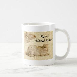 Mug Pâques bénissant l'art de repos d'agneau de