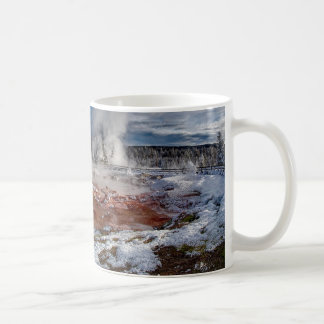 Mug Parc national Wyoming de Yellowstone en hiver