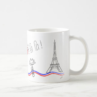 Mug Paris, oh La de La ! Conversation de le