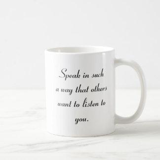 Mug Parlez et écoutez